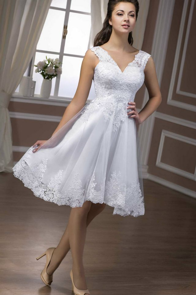 short wedding dresses images