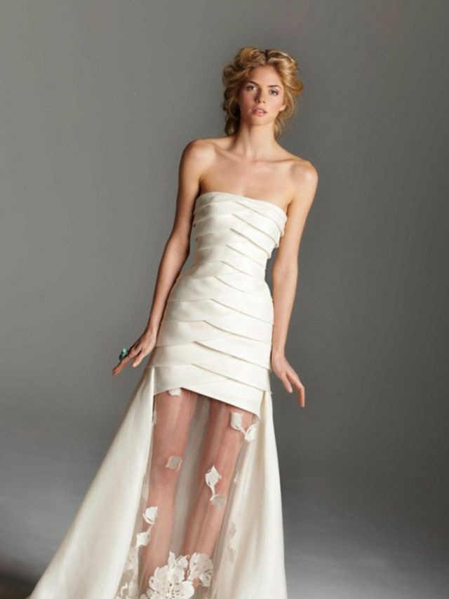 short wedding dresses online