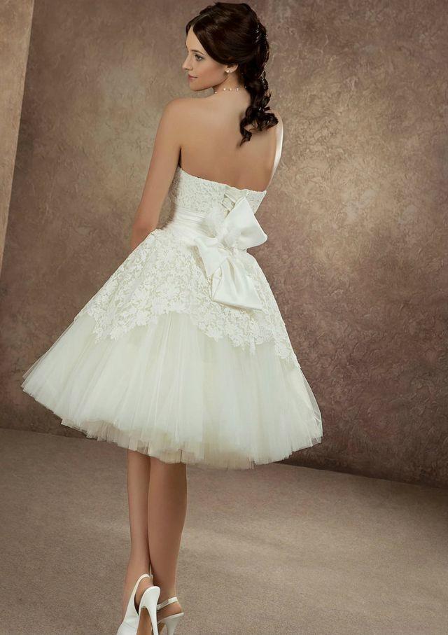 short wedding dresses photos
