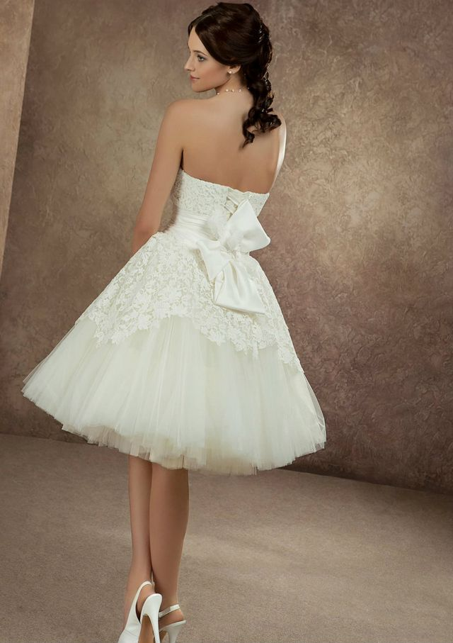 short wedding dresses photos
