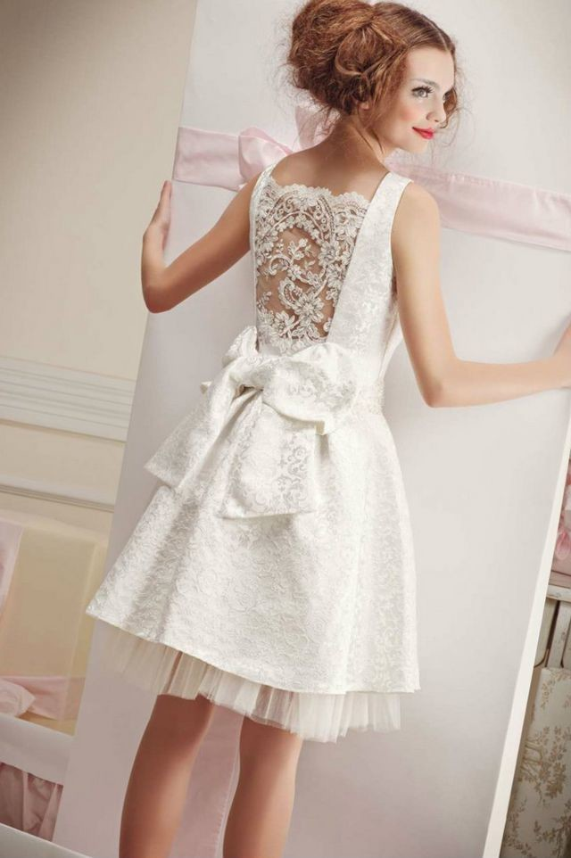 short wedding gowns