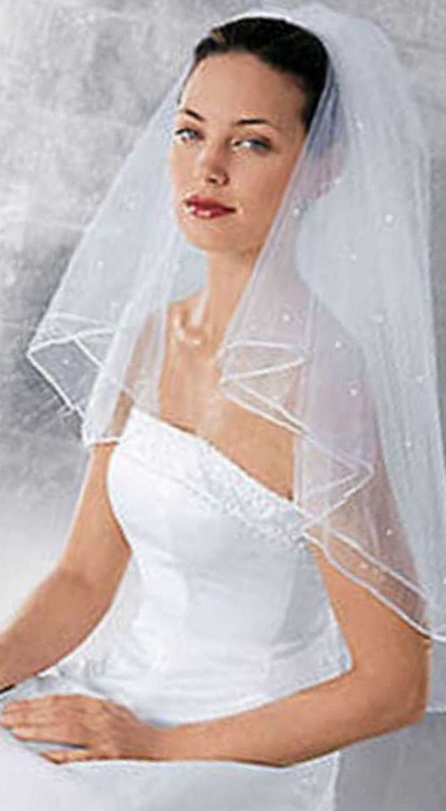 short wedding veil pattern