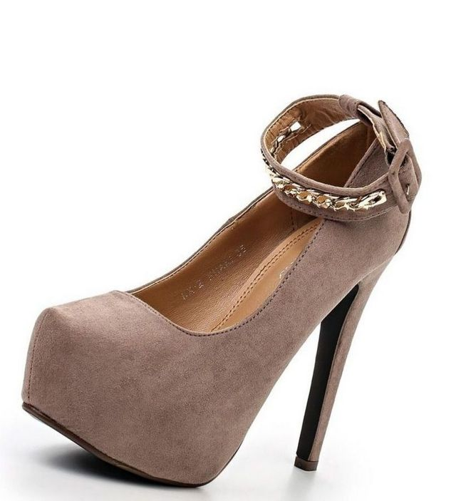 brown platform shoes for wedding