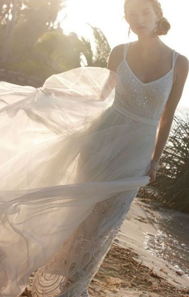 summer lace wedding dresses