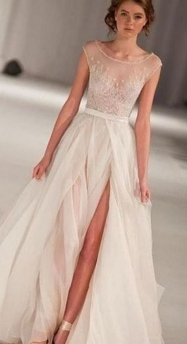 summer outdoor wedding dresses