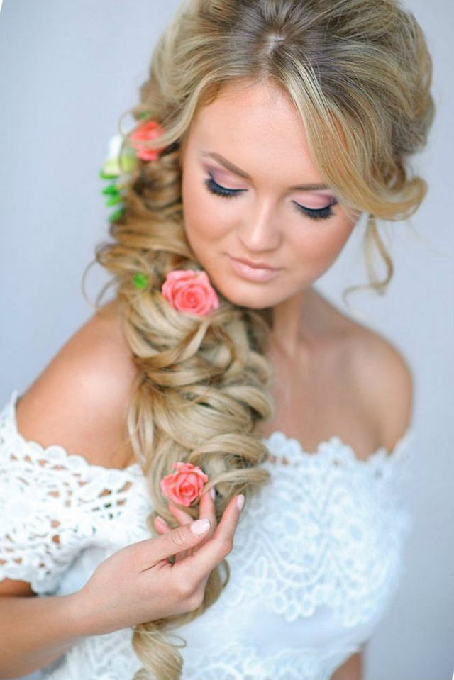trendy wedding hairstyles for long hair