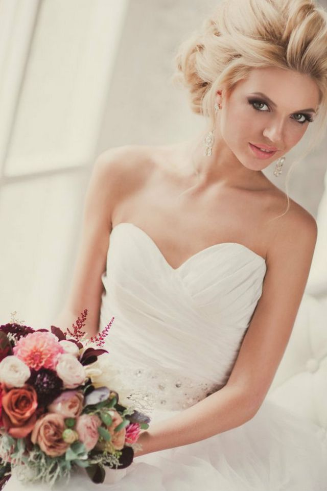 trendy wedding hairstyles for medium hair
