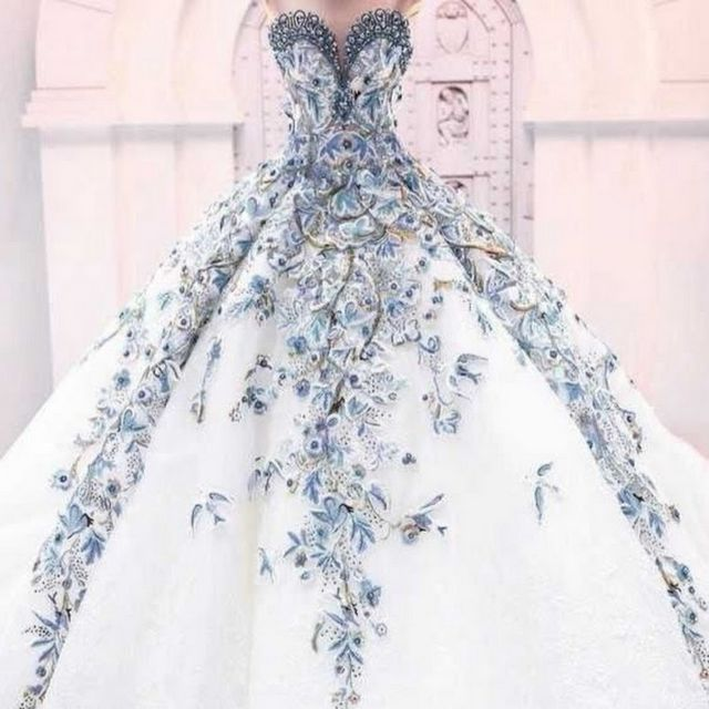 unique beautiful wedding dresses