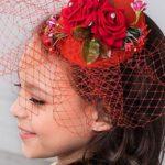 veil for red wedding dress