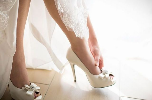 very high heels wedding shoes