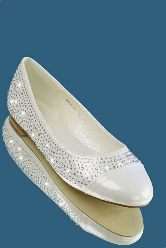 wedding ballet flats for bride