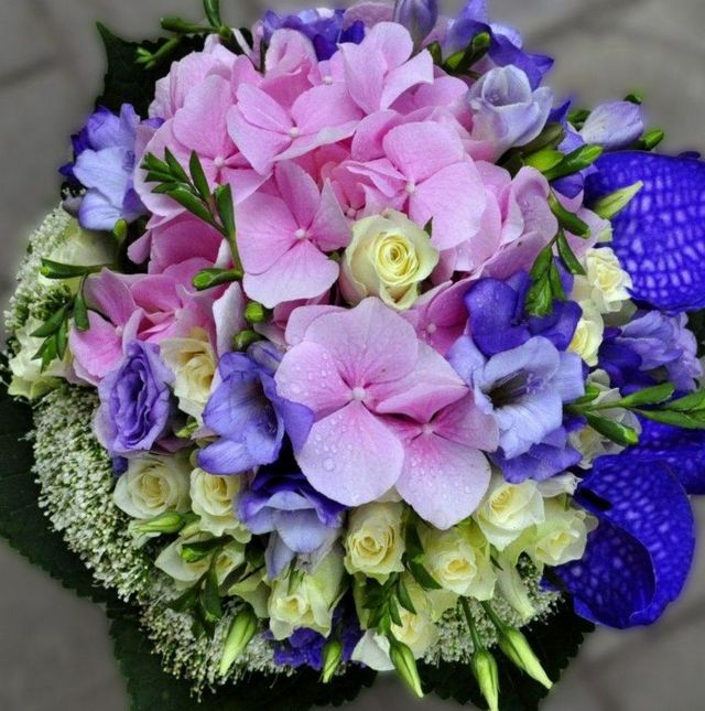 wedding bouquet ideas hydrangea