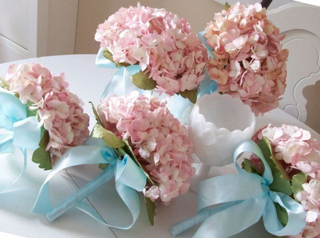 wedding bouquet ideas with hydrangea