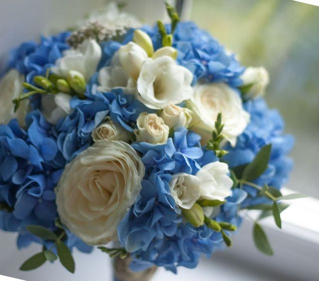 wedding bouquets hydrangea pictures