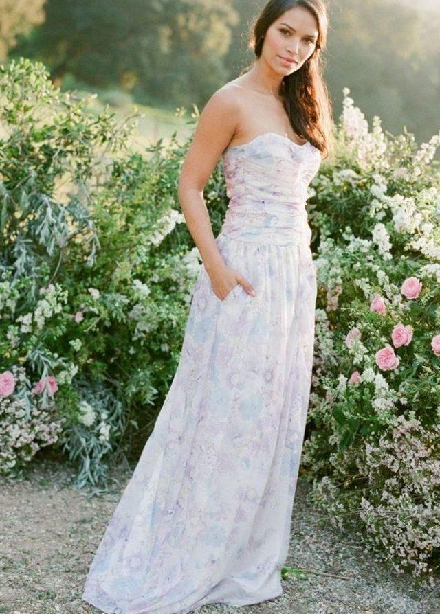 wedding dress in summer