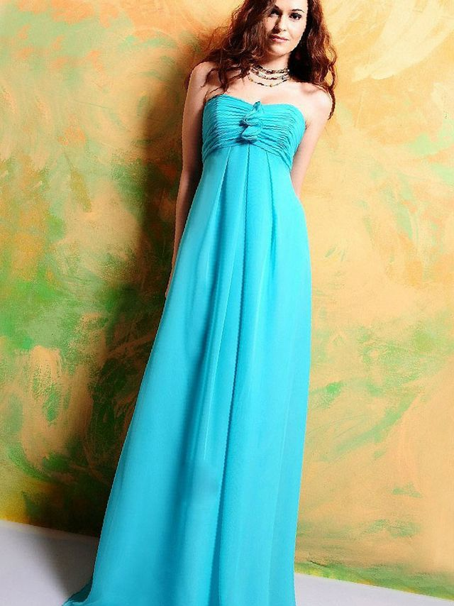 wedding dress turquoise color
