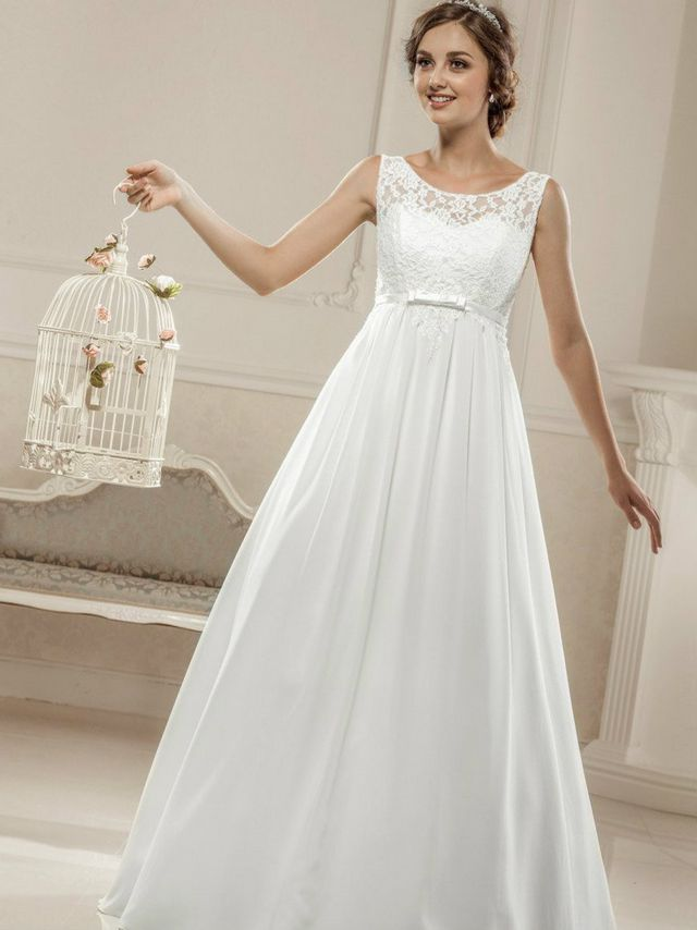 Wedding dresses for pregnant