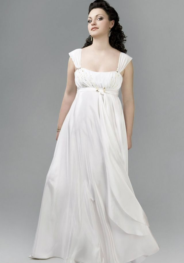 wedding dresses for pregnant ladies