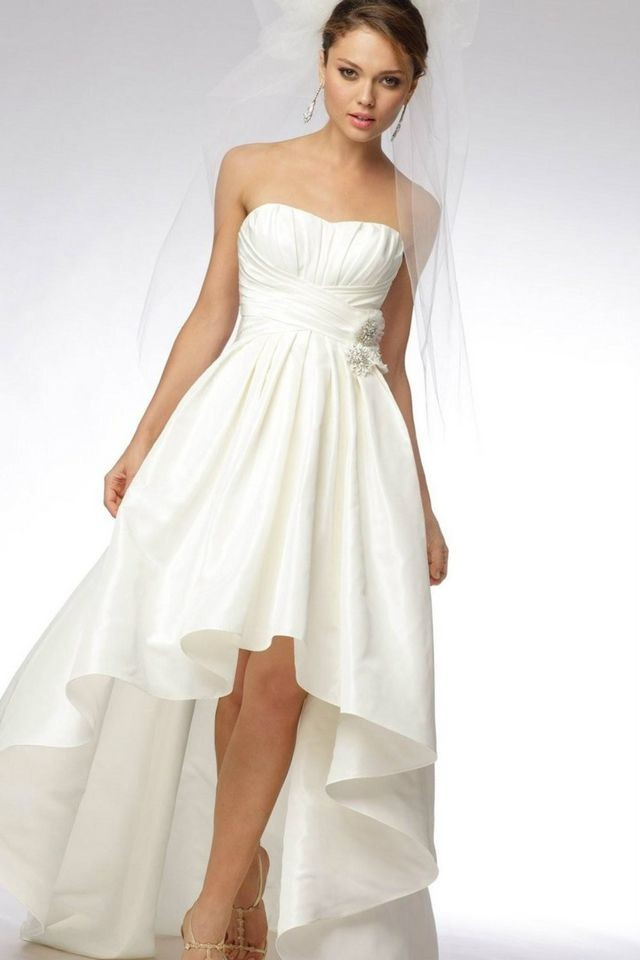 wedding dresses mini length