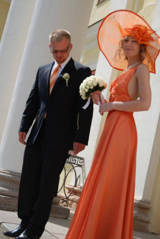 Orange Wedding Dresses