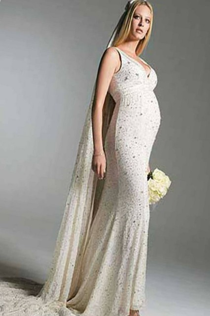 wedding dresses suitable for pregnant brides