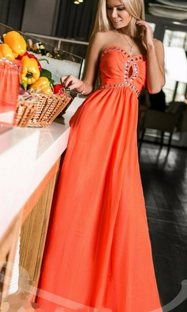 wedding gown bright color