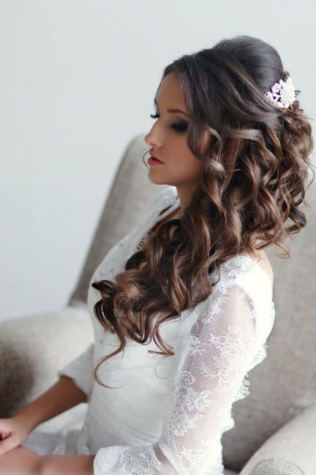 hair style for long thick hair