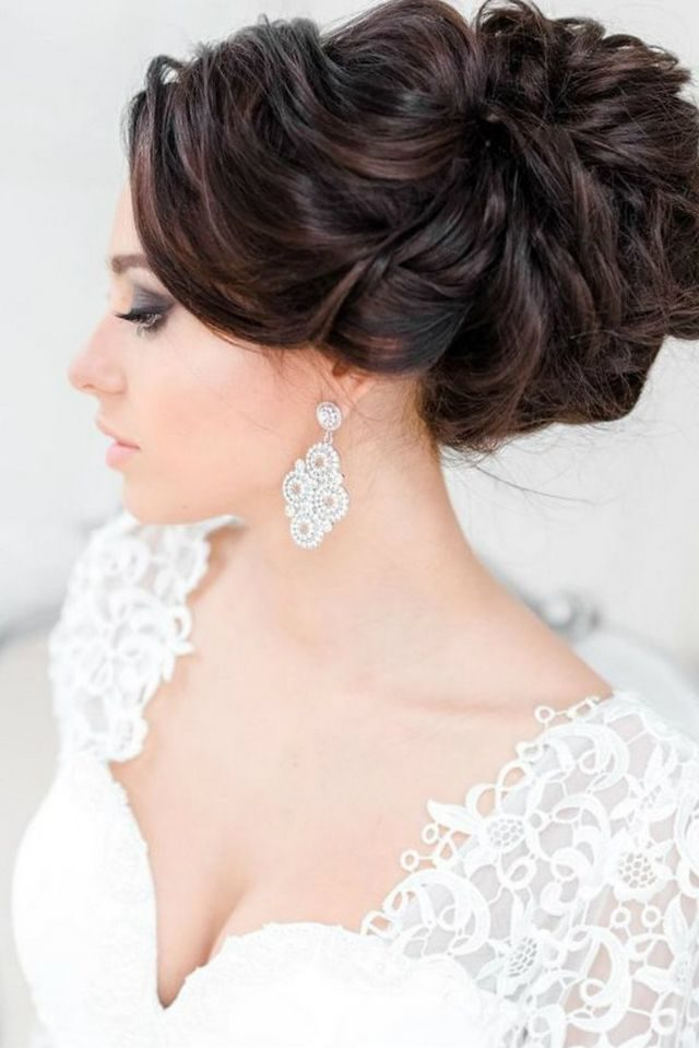 wedding hairdos for long hair 2016