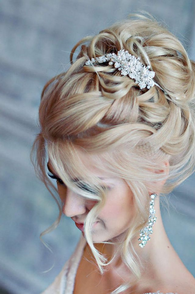 wedding hairdos for long hair photo