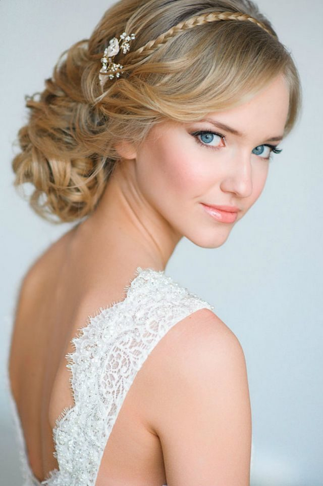wedding hairdos for medium hair image