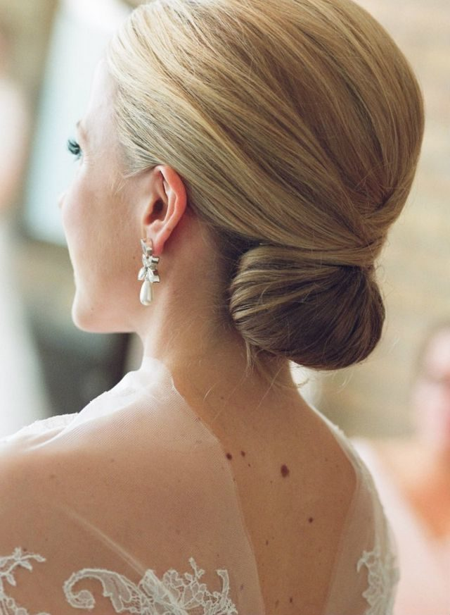 wedding hairdos for medium hair photo