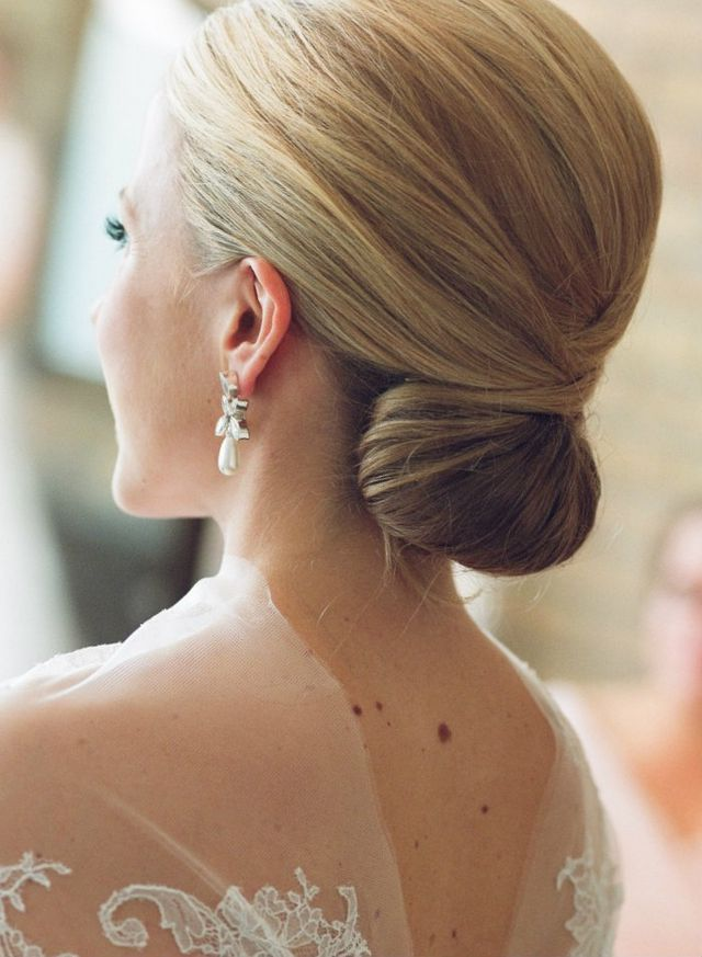 wedding hairdos for medium hair photo