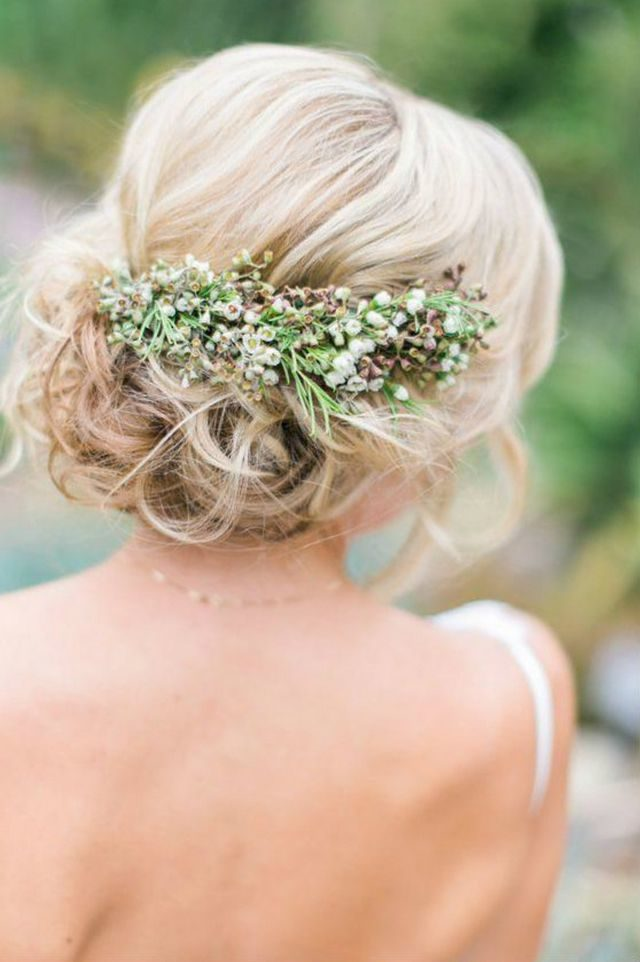 wedding hairdos for medium hair picture