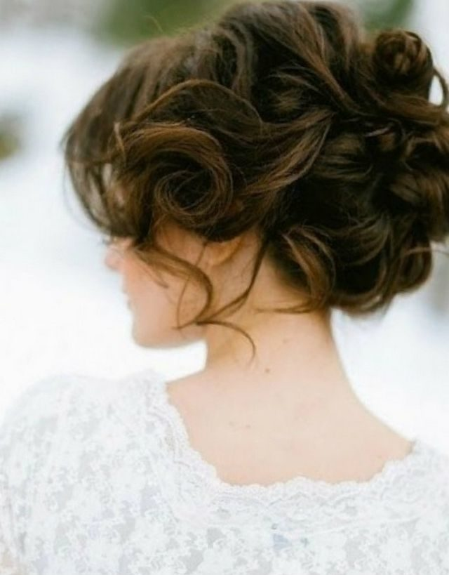 wedding hairstyle medium length hair