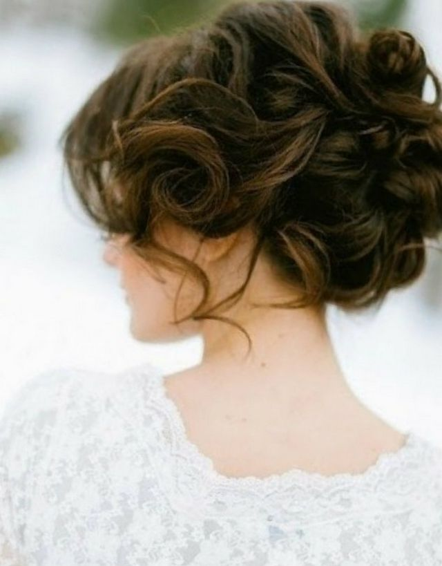 wedding hairstyle medium length hair