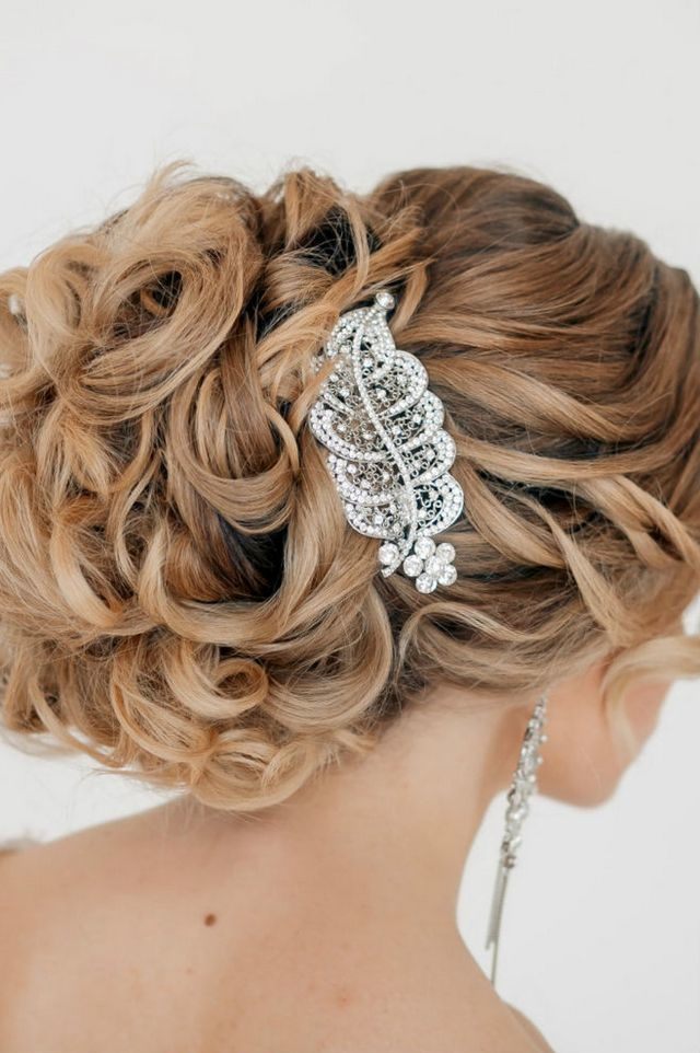 wedding hairstyles for long hair image