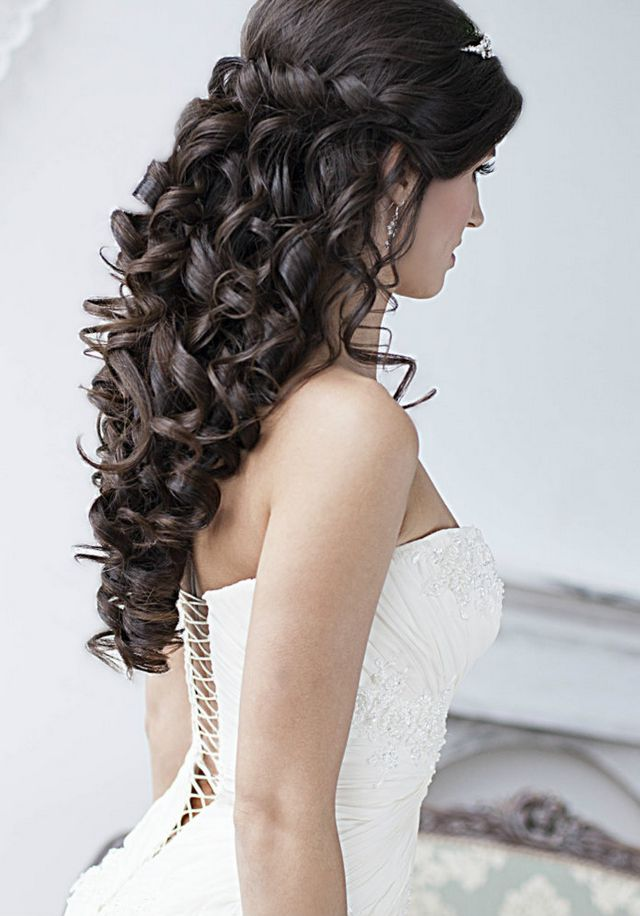 wedding hairstyles for long hair. Black Bedroom Furniture Sets. Home Design Ideas