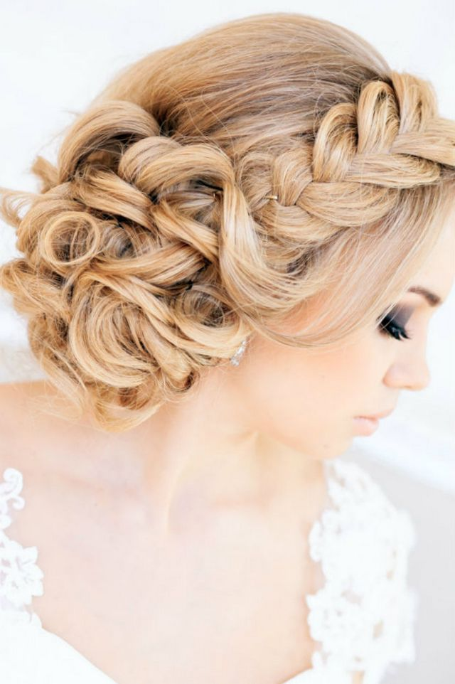 wedding hairstyles for medium hair picture