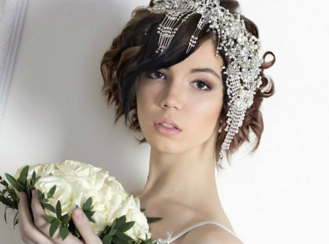 wedding hairstyles for short hair 2016