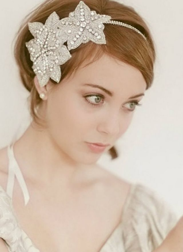 wedding hairstyles for short hair image
