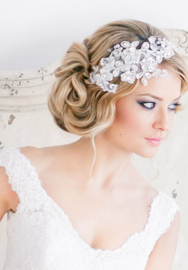 Medium Wedding Hairstyles: Wedding Hairstyle For Medium Hair