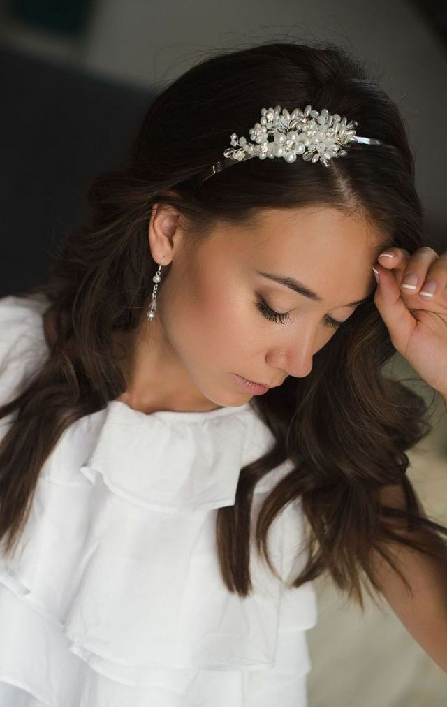 wedding headbands pictures