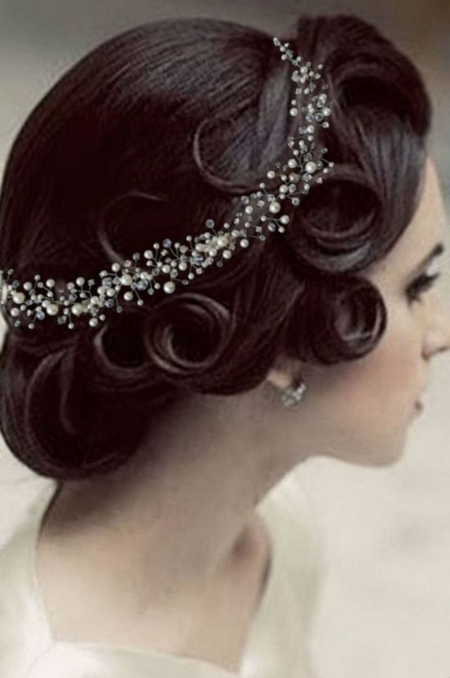 wedding headpieces ivory