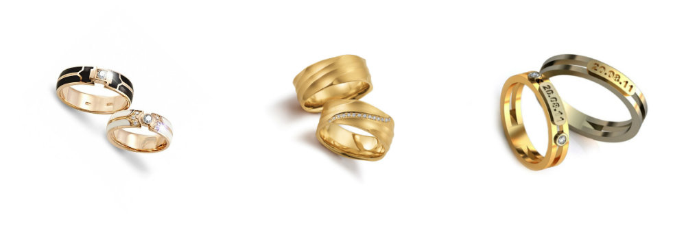wedding rings below $500