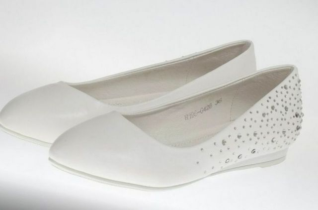 wedding shoes ballet flats image