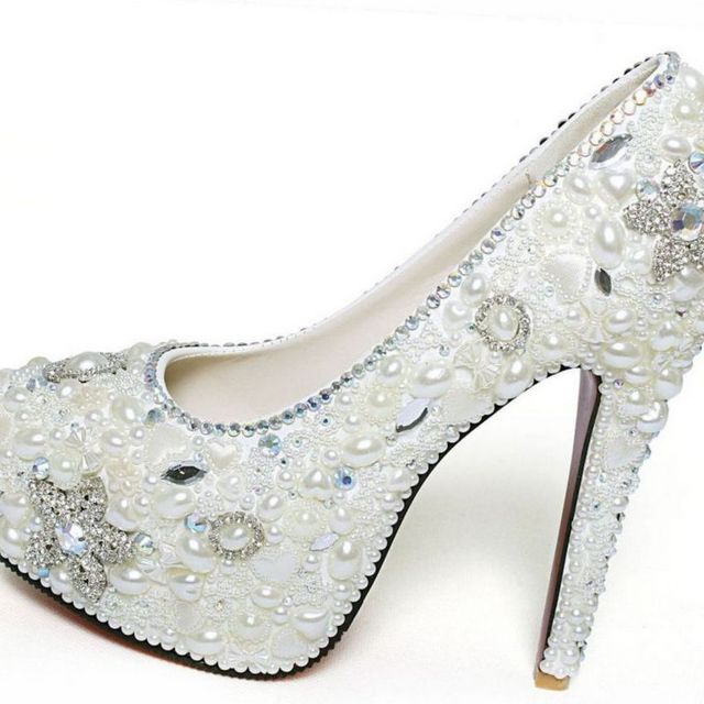 wedding shoes high heels bridal