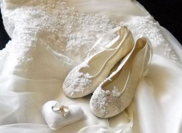 wedding shoes with no heel