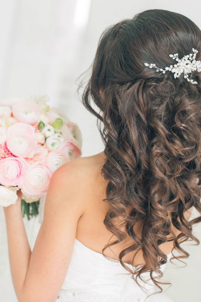 wedding updos for long hair without veil