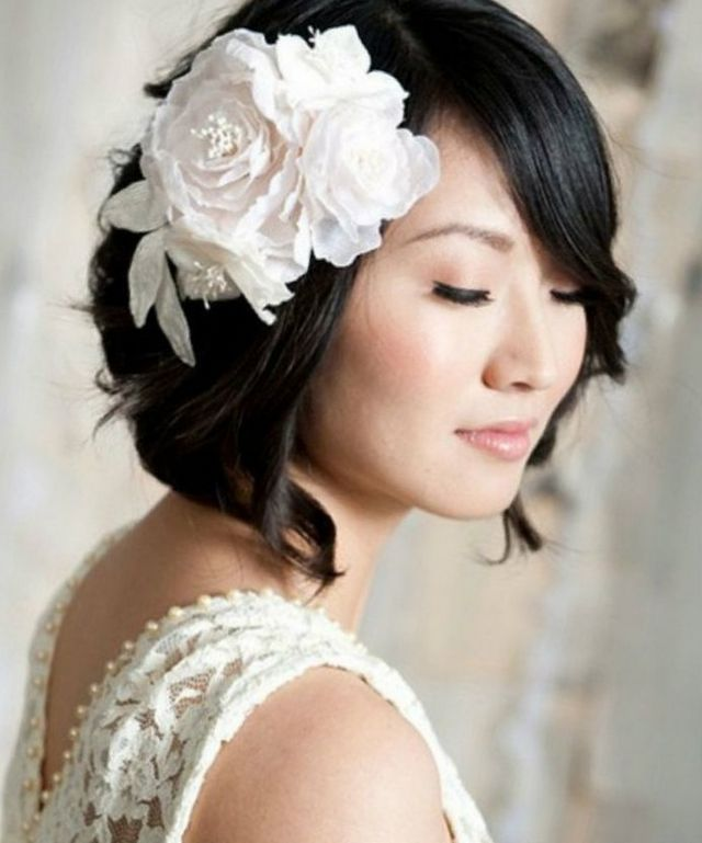 wedding updos for short hair 2016