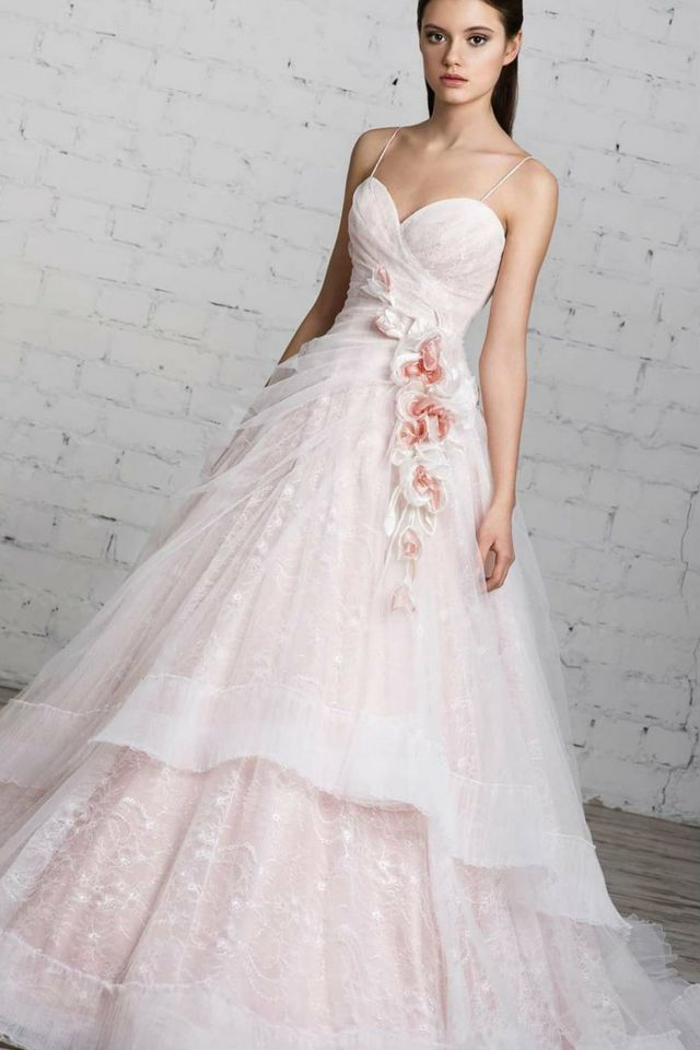 Pink Wedding Dresses